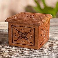 Cedar box, 'Virtues' - Cedar box