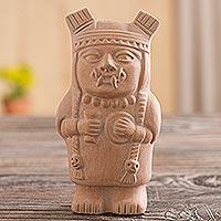 Ceramic sculpture, 'Cuchimilco Protector'