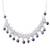 Pearl choker, 'Pearl Garden' - Collectible Floral Fine Silver Choker Pearl Necklace thumbail