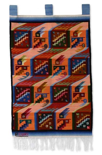 Wool tapestry