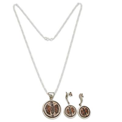 Mate gourd jewelry set