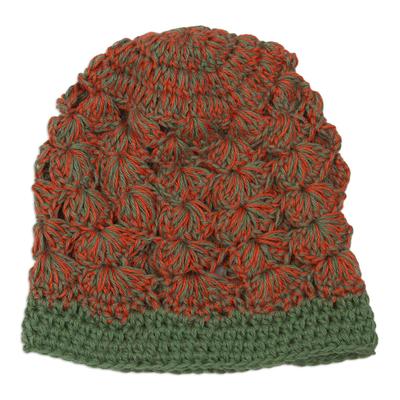 Alpaca Wool Crochet Hat