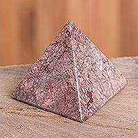 Garnet pyramid, 'Creativity'