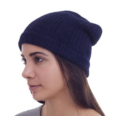 Collectible Alpaca Wool Hat