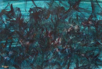 'Disintegration' (2011) - Global Warming Peru Fine Art Oil Painting