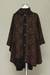 Alpaca blend ruana cloak, 'Piura Flora' - Hand Made Women's Alpaca Wool Blend Ruana Cloak (image 2d) thumbail