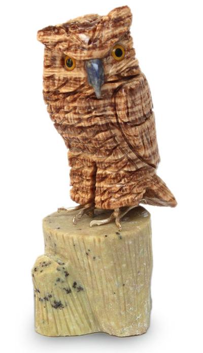 Hand Carved Gemstone Sculpture