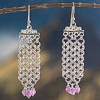 Featured review for Amethyst waterfall earrings, Inca Damsel