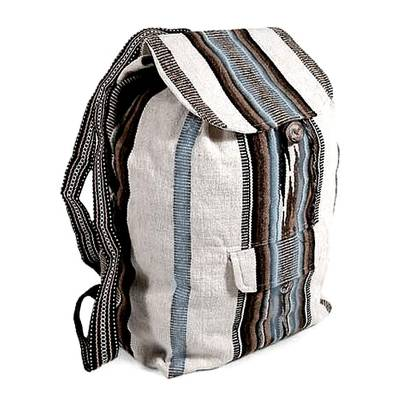 Handcrafted Peruvian Alpaca Backpack