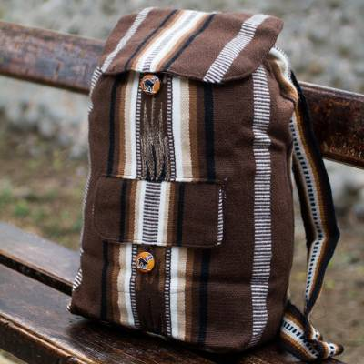 Alpaca blend backpack, Andean Lands