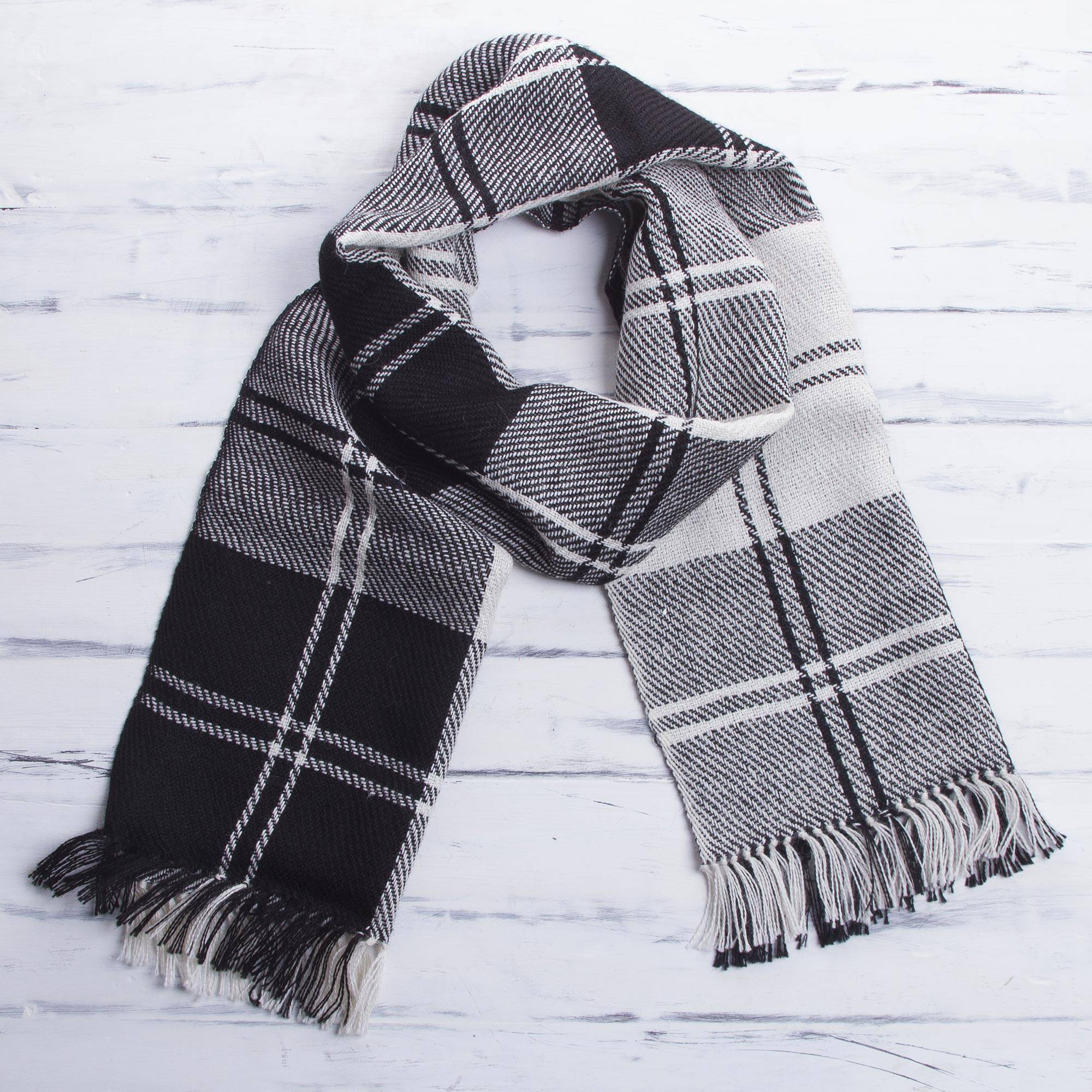 Made to Order Handmade PURE ALPACA Winter Scarf for Women and Men