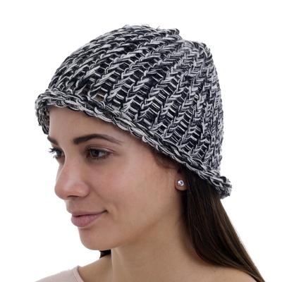 100% alpaca hat