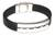 Men's leather bracelet, 'Brave Aymara' - Men's Modern Leather Wristband Bracelet thumbail