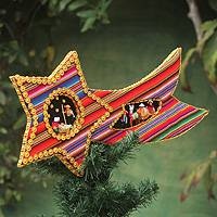 Treetop ornament, 'Star of Bethlehem' - Treetop ornament