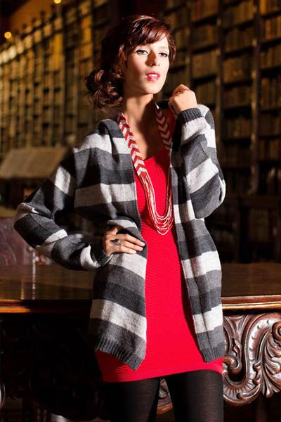Alpaca blend hoodie sweater, 'Winter Shadows' - Striped Alpaca Blend Hoodie Sweater