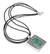 Chrysocolla pendant necklace, 'Worldview' - Leather Sterling Silver Pendant Chrysocolla Necklace (image 2a) thumbail