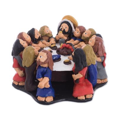 Ceramic Religious Sculpture