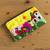Applique cosmetic bag, 'Sunny Afternoon' - Andean Folk Art Cotton Applique Cosmetic Case thumbail