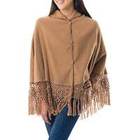 Featured review for Alpaca blend cape, Ayacucho Muse