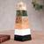 Multi-gemstone obelisk, 'Total Energy' - Natural Multi-gemstone Obelisk Sculpture (image 2) thumbail