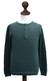 Men's cotton henley sweater, 'Deep Forest' - Andes Men's Green Pima Cotton Pullover Sweater (image 2c) thumbail