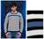 Men's 100% alpaca sweater, 'Blue Spark' - Men's Blue Accent Alpaca Wool Sweater thumbail