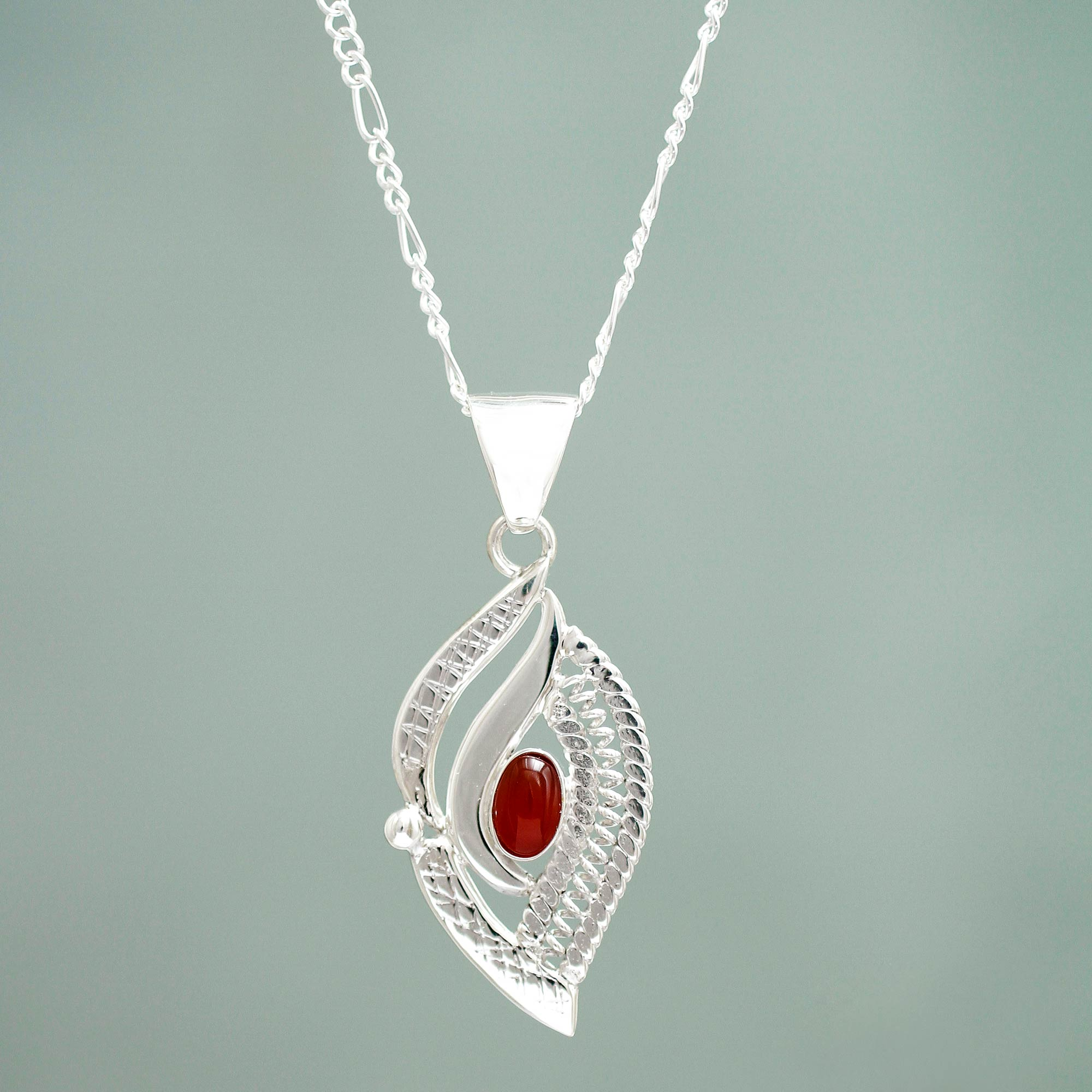 rhodium set res rickis crimson hi bead necklace
