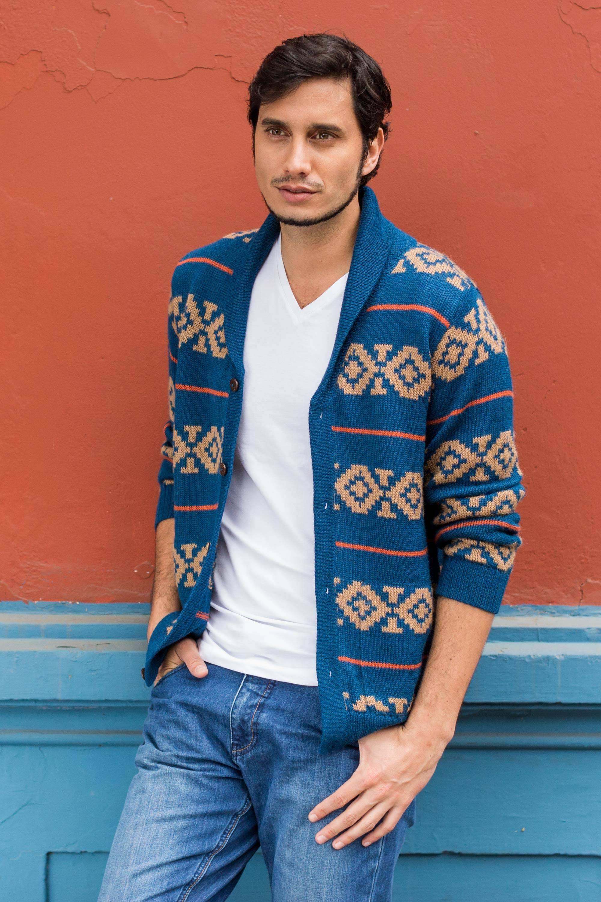 MENS SWEATERS: Handcrafted Men's Sweaters at NOVICA