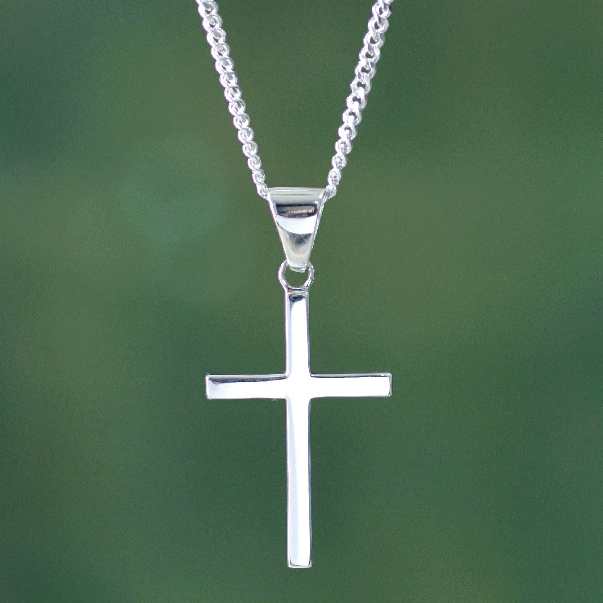 Men s Cross Necklaces at NOVICA