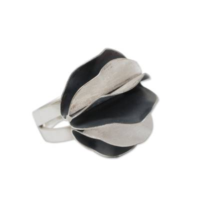 Andean Sterling Silver Artisan Crafted Cocktail Ring