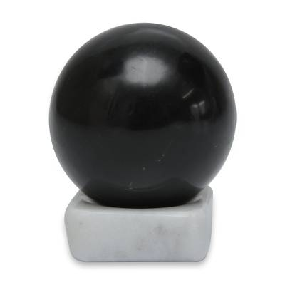 Andean Onyx Artisan Crafted Stone Sculpture and Stand