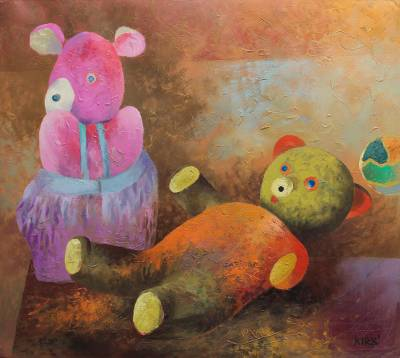 Painting Children