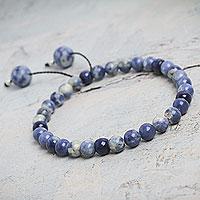 Sodalite stretch bracelet,