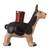 Ceramic decorative vessel, 'Moche Llama' - Handcrafted Ceramic Moche Replica Llama Sculpture from Peru (image 2b) thumbail