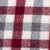 100% alpaca scarf, 'Red Earth' - Hand Woven 100% Alpaca Plaid Scarf with Fringe from Peru (image 2f) thumbail