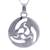 Sterling silver pendant necklace, 'Universe in Motion' - Modern Abstract Andean Silver Pendant Necklace (image 2b) thumbail