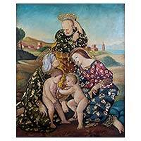'Holy Family with Elisabeth' (2016)