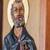 Cedar relief panel, 'Saint Peter the Apostle' - Cedar Wood Wall Relief Panel of Saint Peter from Peru (image 2d) thumbail
