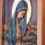 Cedar relief panel, 'Pregnant Virgin of Guadalupe' - Cedar Wood Wall Relief Panel of the Virgin of Guadalupe (image 2c) thumbail