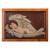 Cedar relief panel, 'Sweet Angel Dreams' - Cedar Wood Relief Panel of Sleeping Angel from Peru thumbail
