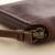 Leather wallet, 'Strong' - Brown Leather Wallet with Zipper from Peru (image 2c) thumbail