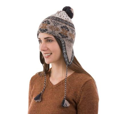 116b1116589 100% alpaca chullo hat