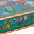 Reverse-painted glass decorative box, 'Dragonflies in Turquoise Skies' - Turquoise Andean Reverse Painted Glass Box with Dragonflies (image 2f) thumbail