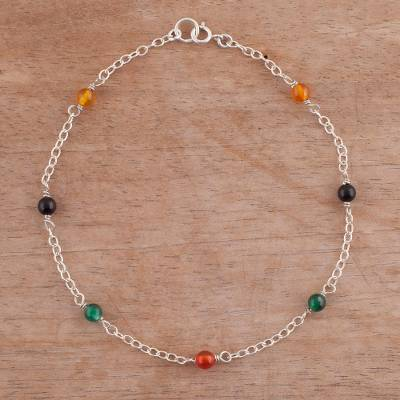 Agate anklet, Leisurely Walk