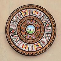 Cuzco plate, 'Andean Landscape'