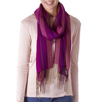 Alpaca blend scarf, Effortless Style