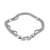 Sterling silver chain bracelet, 'Dragon Royalty' - Sterling Silver Naga Chain Bracelet from Peru (image 2a) thumbail