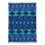 Wool area rug, 'Incan Empire' (4x6) - Handwoven Wool Area Rug in Blue (4x6) from Peru (image 2a) thumbail