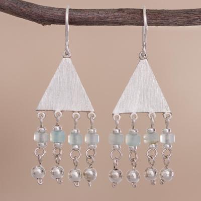 opal earrings Peruvian Queen