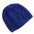 Cotton hat, 'Royal Pattern' - Hand-Crocheted Cotton Hat in Royal Blue from Peru (image 2c) thumbail
